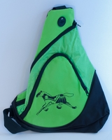 Horse on Lime Green Sling Pack