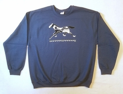 Indigo Running Pony Sweatshirt