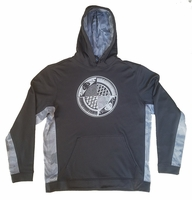 White and Ice Grey Split Plate Sport-Tek Hooded Pullover