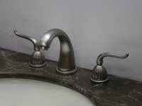 "Faucet Set Brushed Nickel 8"" Spread For Bathroom"