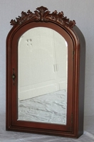 "Mirrored Medicine Cabinet 22""W x 6""D x 36""H Walnut Color #SS2221CH FREE SHIPPING"