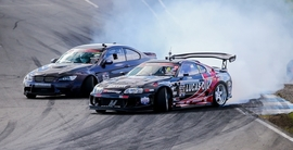British Drift Championship - Team Mishi Takes On 'The Hill'