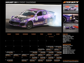 Download the FREE January 2011 Calendar