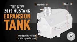 Expand in Style: The All-Aluminum 2015 Mustang Expansion Tank!