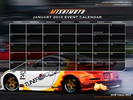 Free January 2010 Calendar Now Available