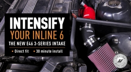 Intensify Your Inline 6: The New E46 3-Series Intake!