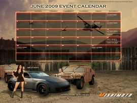 July Free Desktop Calendar Now Available