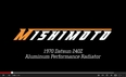 Mishimoto Datsun 240Z Radiator Features & Benefits Video, 70-73
