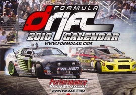 Mishimoto Featured in the Formula Drift 2010 Calendar