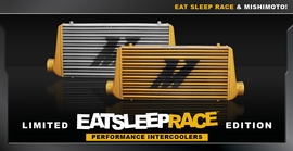 Mishimoto Releases Eat Sleep Race Edition M Line Intercoolers