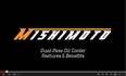 Mishimoto Universal 19/25 Row Dual Pass Oil Cooler Features & Benefits Video