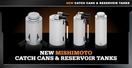 New Catch Cans & Reservoir Tanks