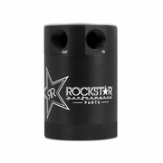 Rockstar Compact Two-Port Baffled Oil Catch Can, Limited Edition