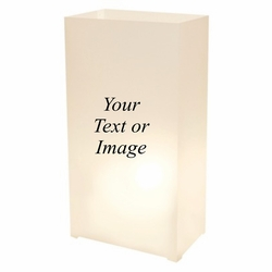 Custom PLASTIC Bag Luminaries (24 Count)