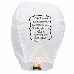 If Tears Could Build A Stairway Sky Lanterns