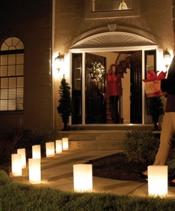 Luminary lantern kits special event lighting candle for Reusable luminaries