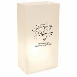 Memorial Luminaries - In Loving Memory  (24 Count)