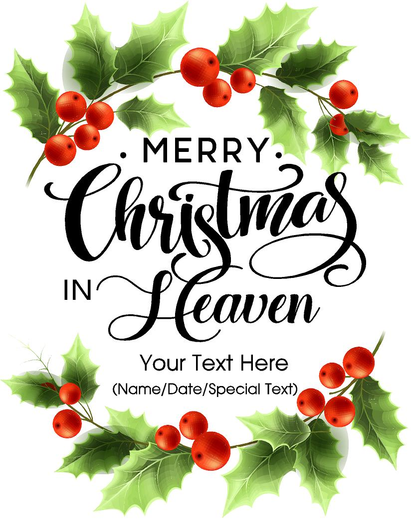 merry christmas in heaven - Merry Christmas In Heaven
