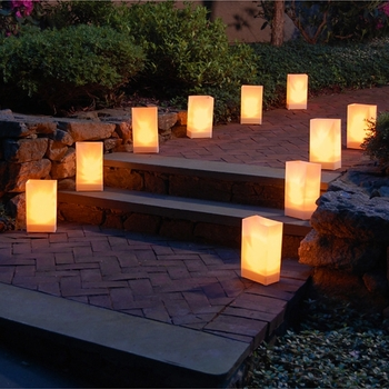 Paper Bag Luminaries