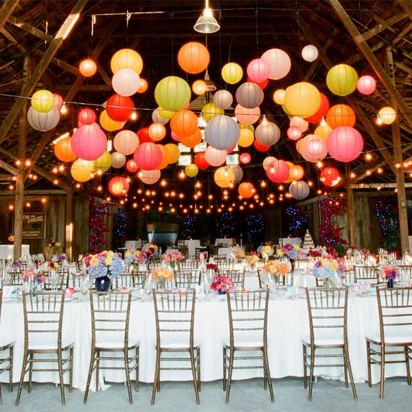 paper lanterns for wedding receptions parties special events