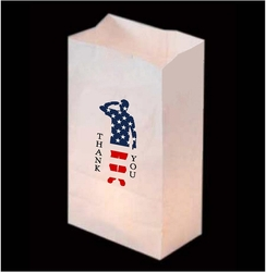 Patriotic Luminaries (24 Count)