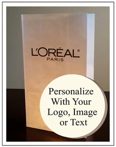 Personalized Luminary Bags