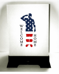 Patriotic Luminaries - Welcome Home Soldier (12 Count)