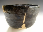 Hikidashi-Guro Chawan #9 (Black Raku Tea Bowl)