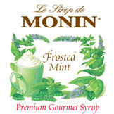 Monin Frosted Mint Syrup