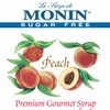 Monin Sugar-Free Peach Syrup