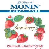 Monin Sugar-Free Strawberry Syrup