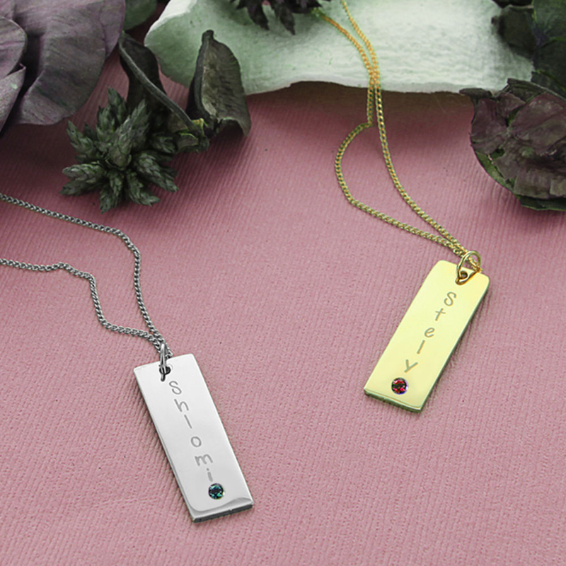 Engraved flat rectangle pendant in silver shop online deals engraved flat rectangle pendant in silver mozeypictures Choice Image