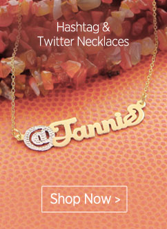 Hashtag & Twitter Necklaces