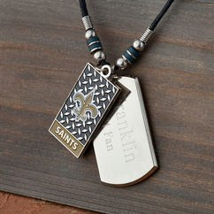 Personalized NFL Dogtag