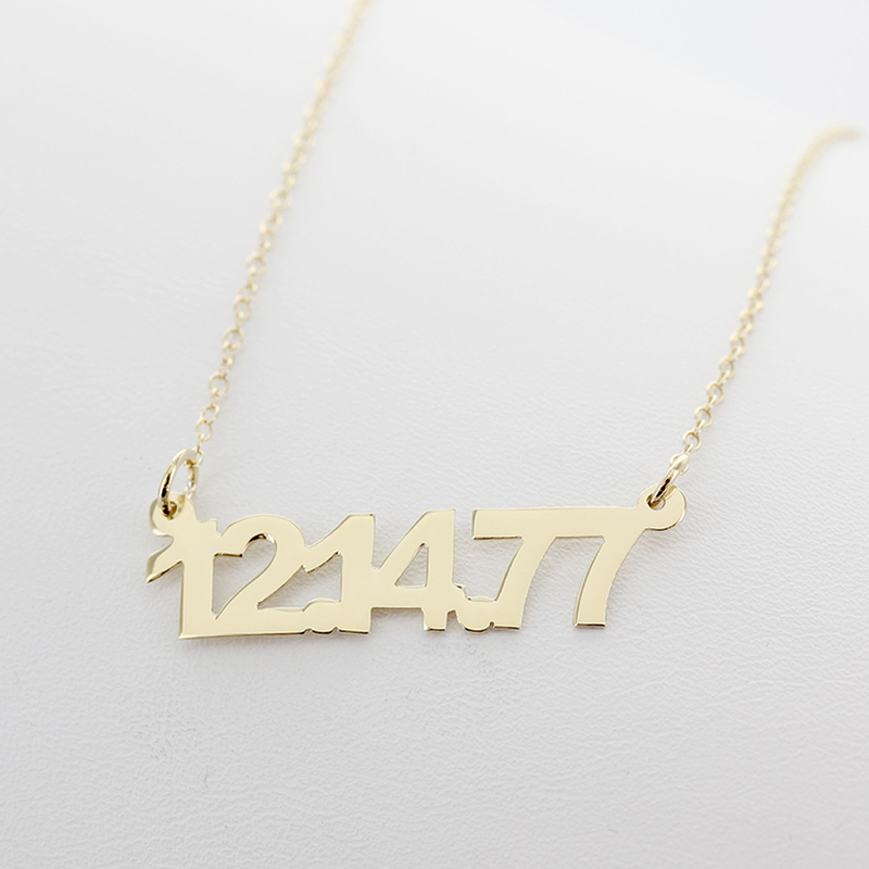 jewelry a x mm special personalized necklace date