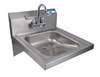 "16"" x 14"" ADA Stainless Steel Hand Sink"