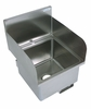"16"" x 16"" Stainless Steel Deck Mount Hand Sink"