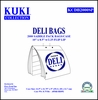 Deli Bags - Saddle Pack - Flip Lip 2.25""