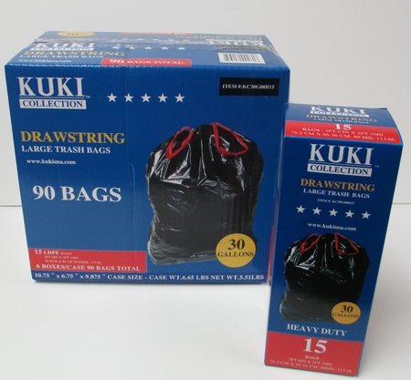 Retail Trash Can Liners - 30 Gallons