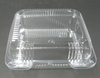 Plastic 1 Compartment Food Take Out Tray