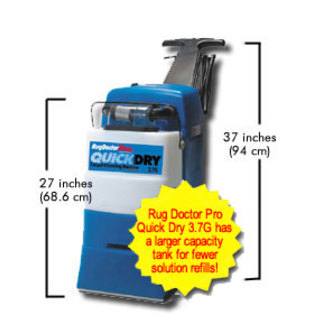 Rug Doctor 95330 Wide Track Quick Dry
