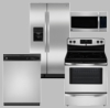 Stainless Steel Appliance Pack - Contractor Special
