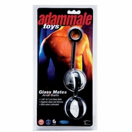 Adam Male Toys Glass Mates Anal Balls