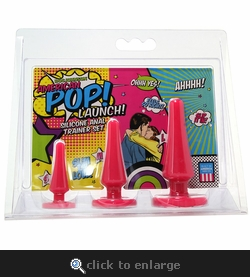American Pop! Launch! Anal Trainer Set