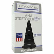 "Anal Stretcher 6"" Vac-U-Lock Expansion Plug"