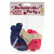 Bachelorette Party Latex Balloons 12 Pieces