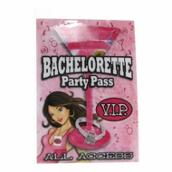 Bachelorette VIP Party Pass in Assorted Colors