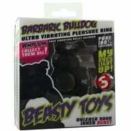 Beasty Toys Barbaric Bulldog Vibrating Cock Ring