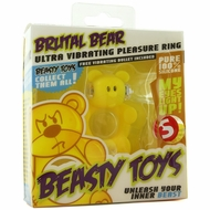 Beasty Toys Brutal Bear Vibrating Cock Ring