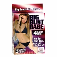 Big Bust Babe Blow Up Doll